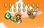 Superstar Mario en Super Mario World 2 Yoshi's Island.png