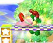 Lanzamiento hacia arriba de Kirby (3) SSBM.png