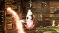 Smash meteorico de Link en la Central Geotermica SSB4 (Wii U).jpg