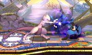 Ataque Smash hacia adelante Mewtwo (2) SSB4 (3DS).JPG