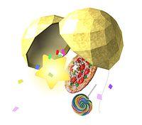 Art oficial de la Bola de fiesta en Super Smash Bros. Brawl