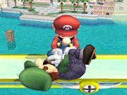 Lanzamiento hacia arriba (1) Mario SSBB.jpg