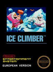 Carátula europea de Ice Climber.