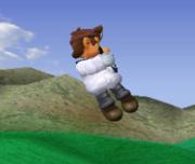 Ataque aéreo hacia abajo de Dr. Mario SSBM.png