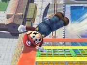 Ataque de recuperación desde el borde -100% Mario SSBB.jpg