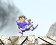 Ataque Smash hacia arriba de Ice Climbers (1) SSBM.png