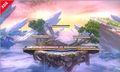 Primera imagen del Campo de batalla de SSB4 (3DS).jpg