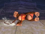 Ataque fuerte lateral Diddy Kong SSBB.jpg
