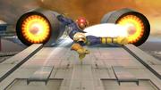 Ataque aéreo normal de Captain Falcon (1) SSB4 (Wii U).png