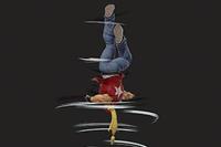 Vista previa de Rising Tackle en la sección de Técnicas de Super Smash Bros. Ultimate
