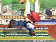 Ataque de recuperación al resbalar (2) Mario SSBB.jpg