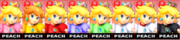 Paleta de colores de Peach SSB4 (3DS).png