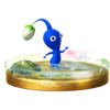 Trofeo de Pikmin azul SSB4 (Wii U).png