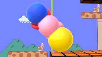 Kirby imitando a un dango (1) SSBU.png
