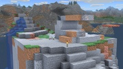 Mundo de Minecraft (Costa rocosa) SSBU.jpg