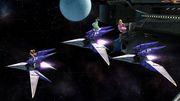 Samus, Peach y Palutena en la Estación espacial SSB4 (Wii U).jpg