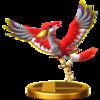 Trofeo de Pelícarro rojo SSB4 (Wii U).png