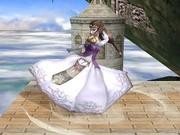 Ataque Smash inferior Zelda SSBB.jpg