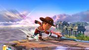 Ataque de recuperación desde el borde Tirador Mii SSB4 Wii U.jpg