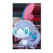 Imagen de Sobble variocolor en Pokémon Espada y Pokémon Escudo