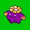 Imagen de Skiploom variocolor en Pokémon Plata
