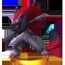 Trofeo de Zoroark SSB4 (3DS).png