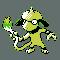 Imagen de Smeargle variocolor en Pokémon Plata