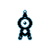 Imagen de Unown variocolor en Pokémon Plata