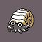 Imagen de Omanyte variocolor en Pokémon Plata
