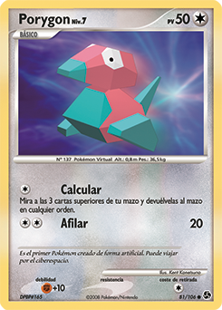 Carta de Porygon