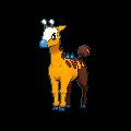 Girafarig XY variocolor.png