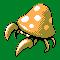 Imagen de Parasect variocolor en Pokémon Plata