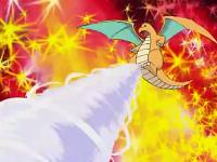 Dragonite del profesor Oak usando ciclón.