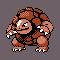 Imagen de Golem variocolor en Pokémon Plata