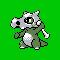 Imagen de Cubone variocolor en Pokémon Plata