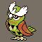 Imagen de Noctowl variocolor en Pokémon Plata