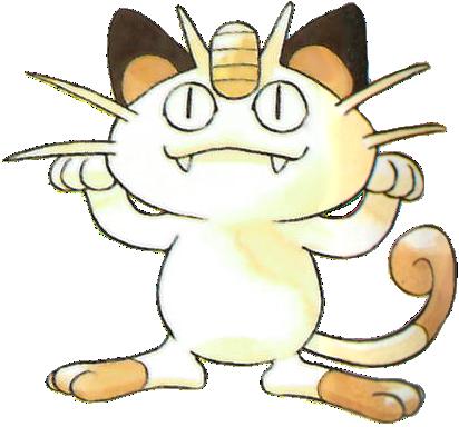 Meowth en la primera generación.png
