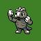 Imagen de Machop variocolor en Pokémon Plata