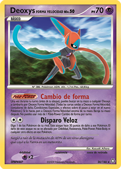 Carta de Deoxys