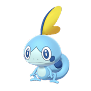 Imagen de Sobble en Pokémon Espada y Pokémon Escudo