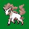 Imagen de Ponyta variocolor en Pokémon Plata