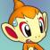 Cara angustiada de Chimchar 3DS.png