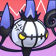 Cara enfadada de Chandelure 3DS.png