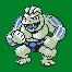 Imagen de Machoke variocolor en Pokémon Plata