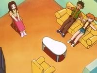 Madre de Sabrina, Brock y Misty convertidos en muñecos.