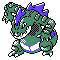 Imagen de Feraligatr variocolor en Pokémon Plata