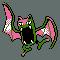 Imagen de Golbat variocolor en Pokémon Plata