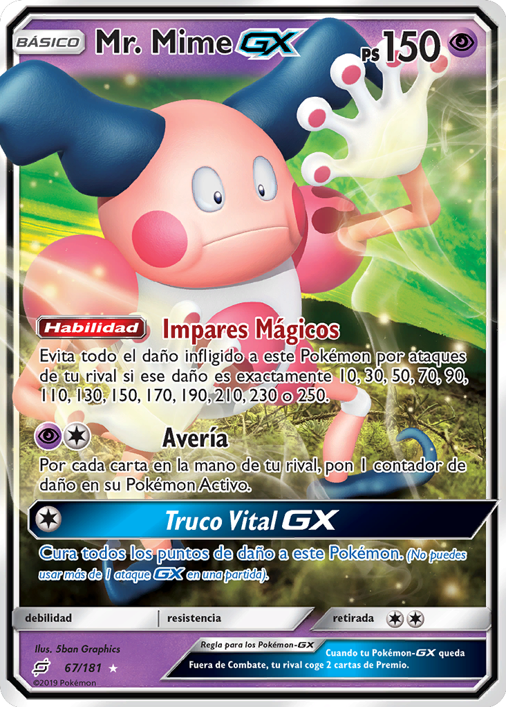 Carta de Mr. Mime-