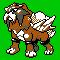 Imagen de Entei variocolor en Pokémon Plata
