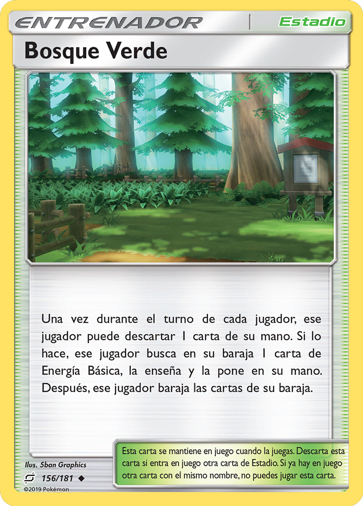 Carta Bosque Verde